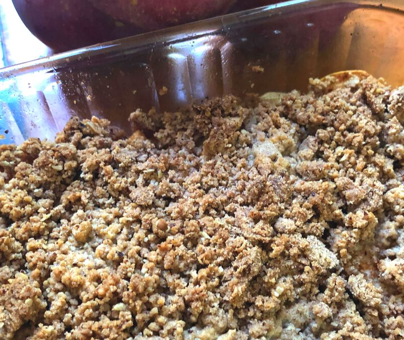 Jenny's Apple Crisp 🍎