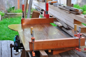 Clamping the end-logs