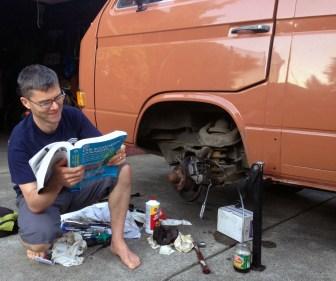 Replacing the brake caliper