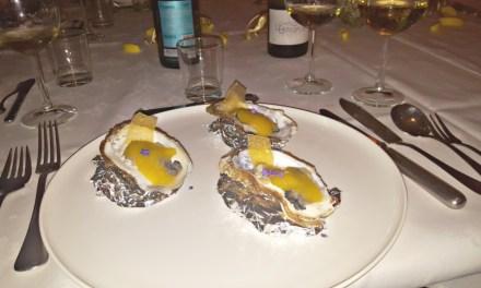 Muscadet en oesters met passievrucht en lavendel