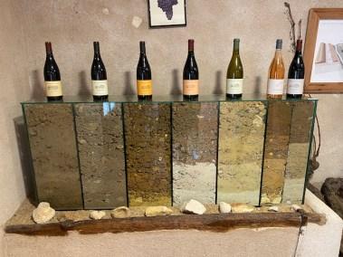 wijnproeven in de loire wijndomein Bernard Baudry