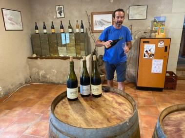 Bernard Baudry Winery - wijnproeven in de Loire