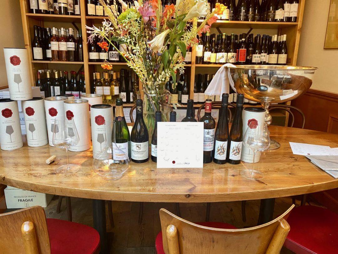 wijnglazen testen: Grassl Glass vigneron serie