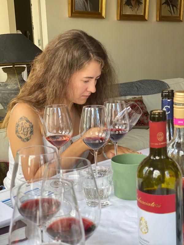WSET 2 wijncursus wijn beoordelen