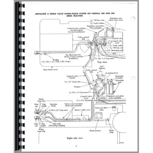 farmall 400 tractor diagram  wiring diagrams options snow