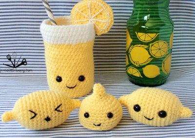 It's here!  Amigurumi is the best way to turn lemons into lemonade!