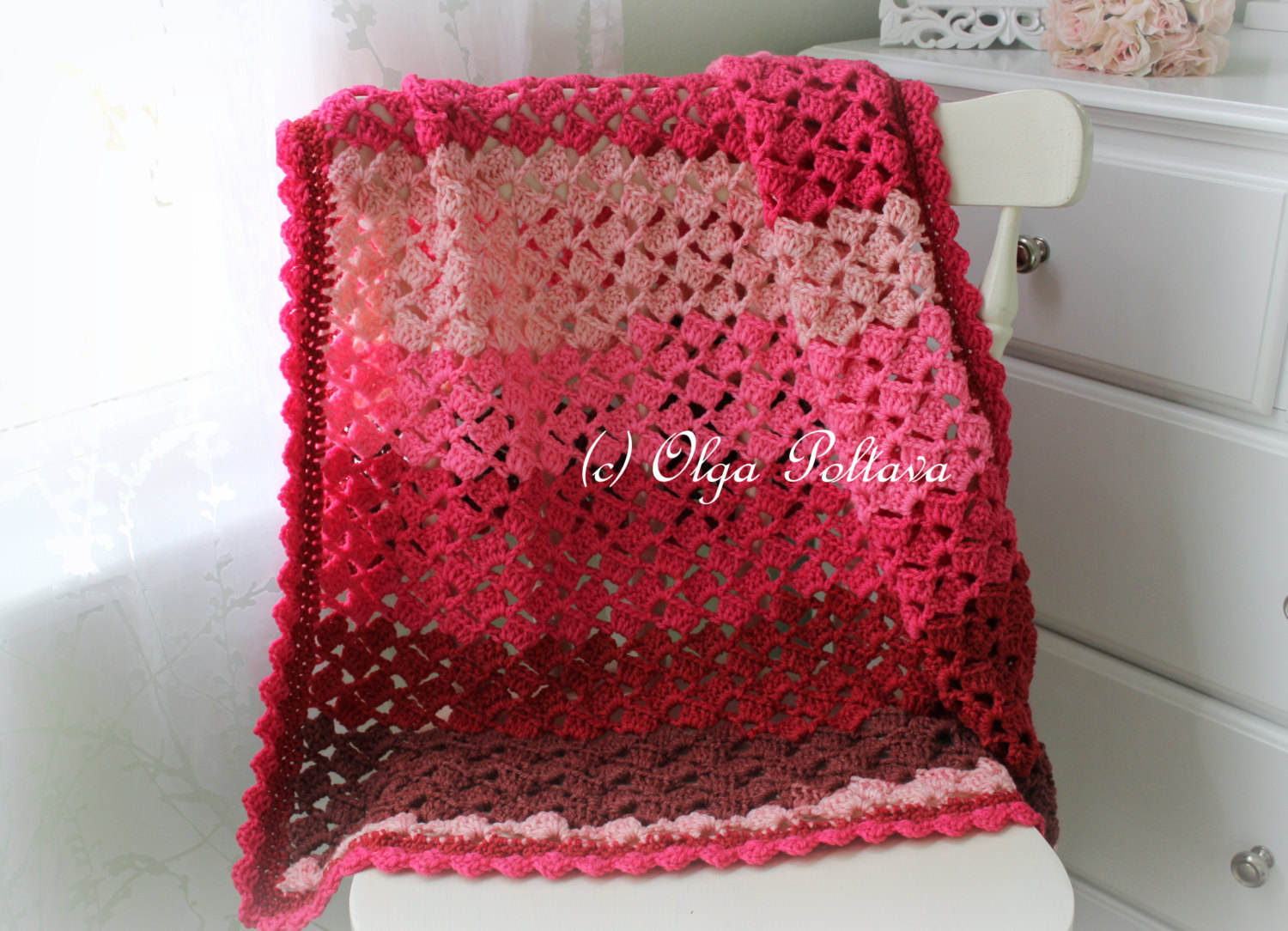 Do you need caron cakes pattern ideas stop here first jens a olgas crochet frenzys cherry chip baby afghan bankloansurffo Choice Image