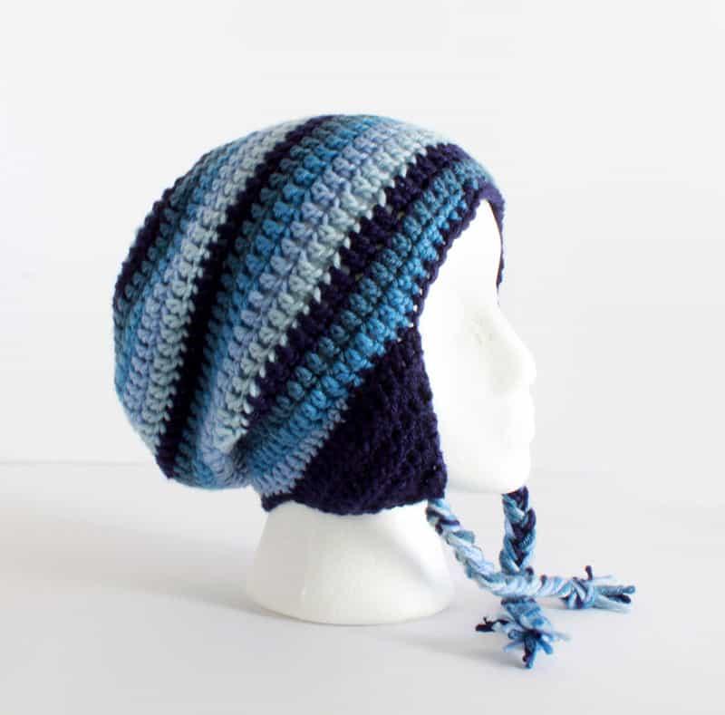 get twisted hat pattern