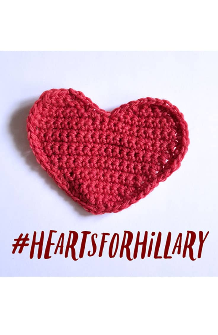 Let's send #HeartsForHillary to thank her for fighting for us.