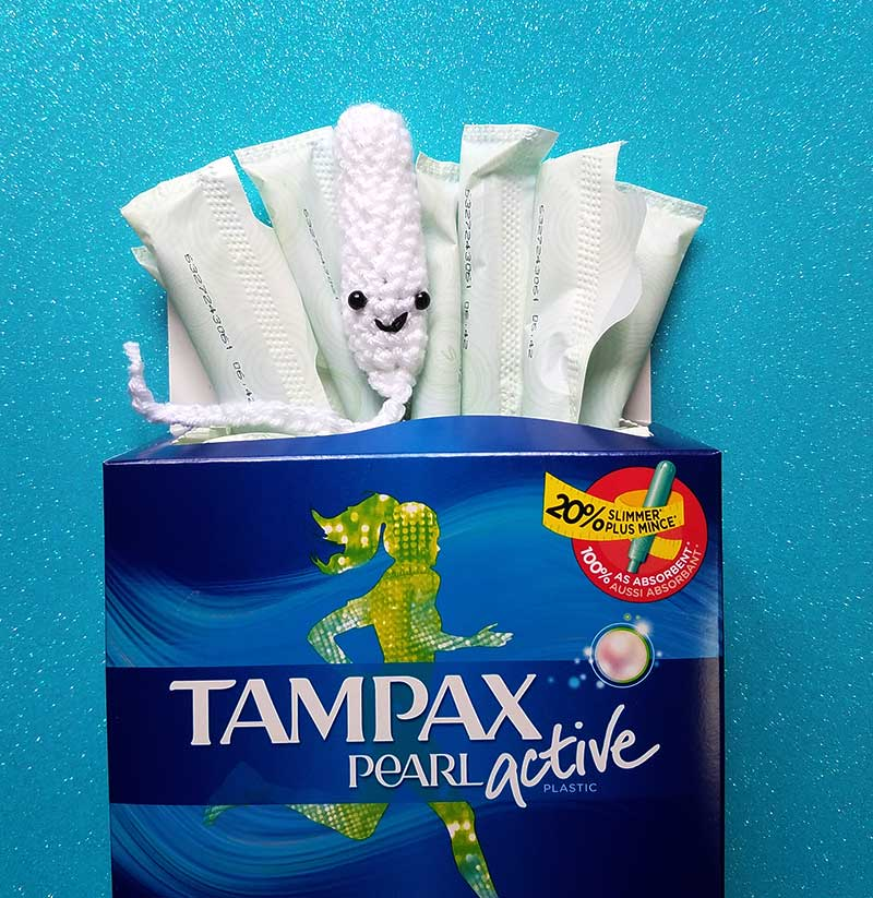 Crochet tampons are the worst idea ever.