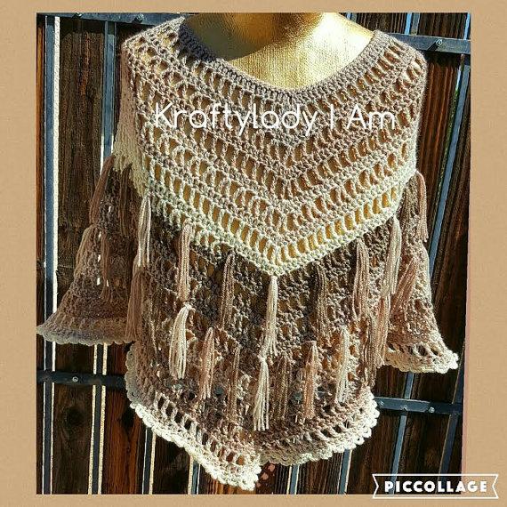 Sugarwheel Pattern Ideas - Boho Poncho