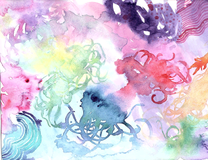 Skillshare Underwater Watercolors