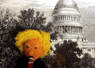Tiny Trump Goes to Washington