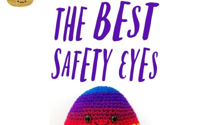 Want to take your amigurumi to the next level? It's in the safety eyes.