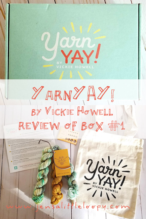 Have you heard about YarnYAY! by Vickie Howell? This is *the* yarn subscription you need in your life! #knitting #crochet #yarn