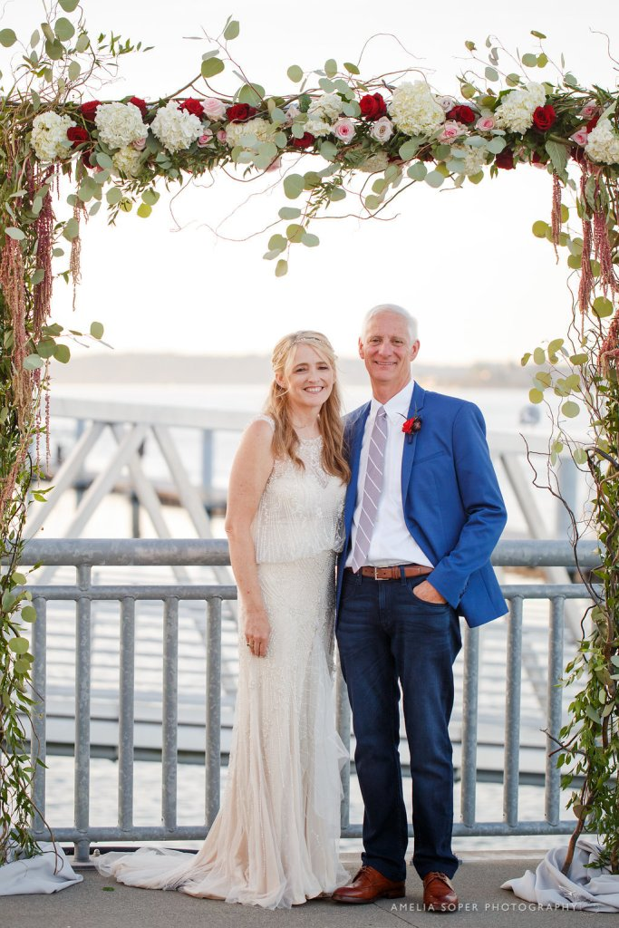 Ceremony Arch at Foss Waterway Seaport, Tacoma
