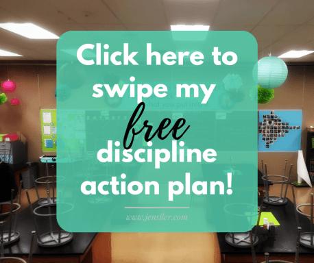 discipline action plan