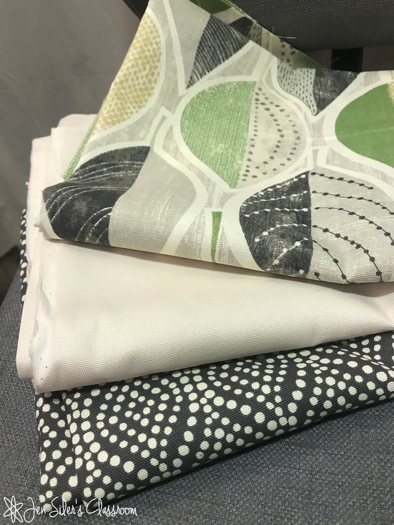 The best way to cover an ugly desk chair jen siler 39 s classroom - Choosing the best slipcover fabrics for your home ...