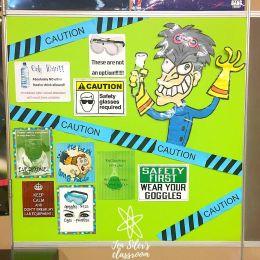 lab safety bulletin board