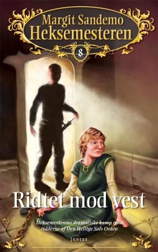 Heksemesteren 08 - Ridtet mod vest omslagsbillede