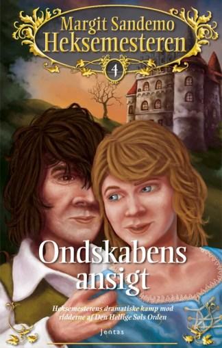 Heksemesteren 04 - Ondskabens ansigt - CD omslagsbillede