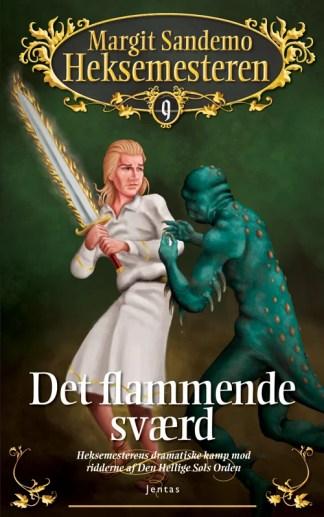 Heksemesteren 09 - Det flammende sværd, mp3 omslagsbillede
