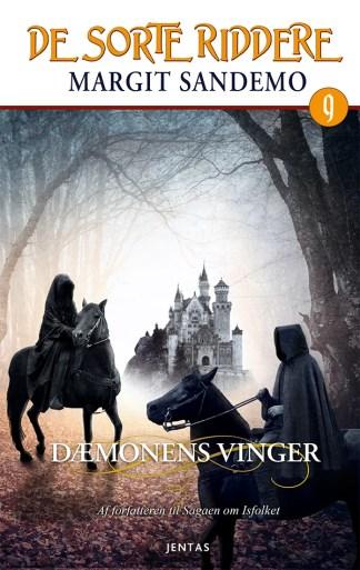 De sorte riddere 9 - Dæmonens vinger omslagsbillede