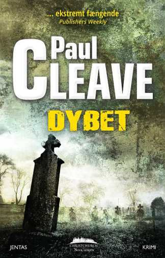 Dybet af Paul Cleave omslagsbillede