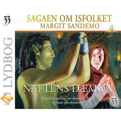 Isfolket 33 - Nattens dæmon - CD omslagsbillede