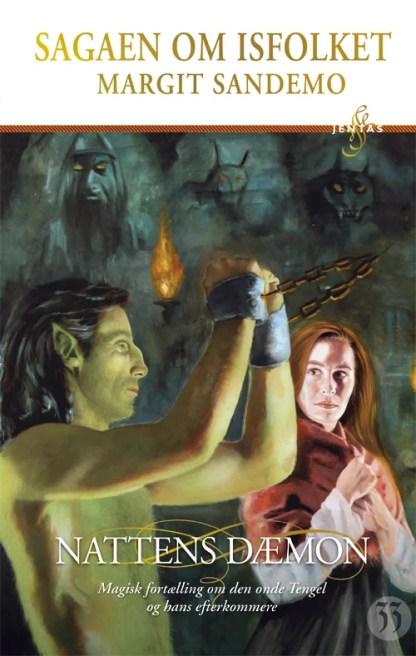 Isfolket 33 - Nattens dæmon omslagsbillede