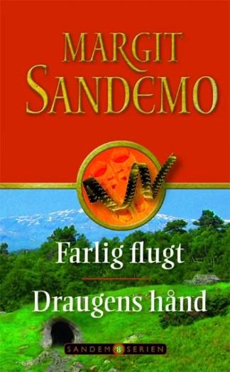 Sandemoserien 08 - Farlig flugt og Draugens hånd omslagsbillede