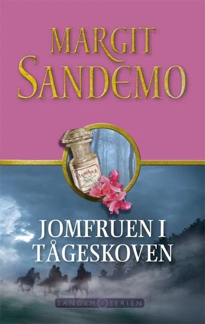 Sandemoserien 18 - Jomfruen i Tågeskoven omslagsbillede