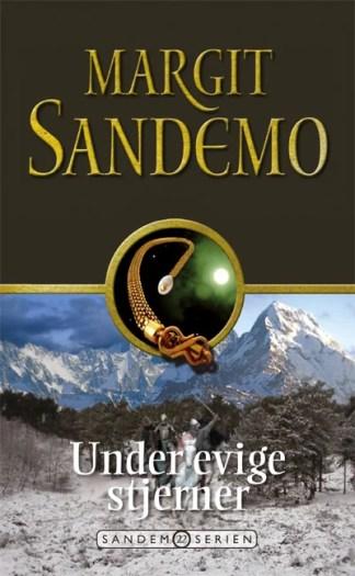 Sandemoserien 22 - Under evige stjerner omslagsbillede