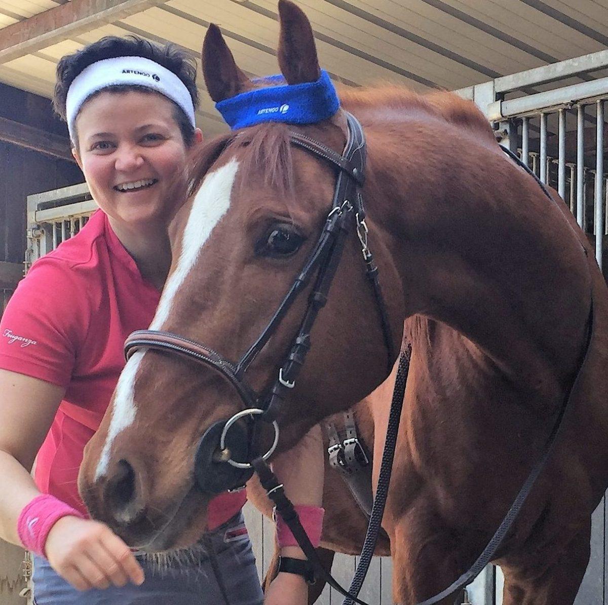 entrainement cheval athlète
