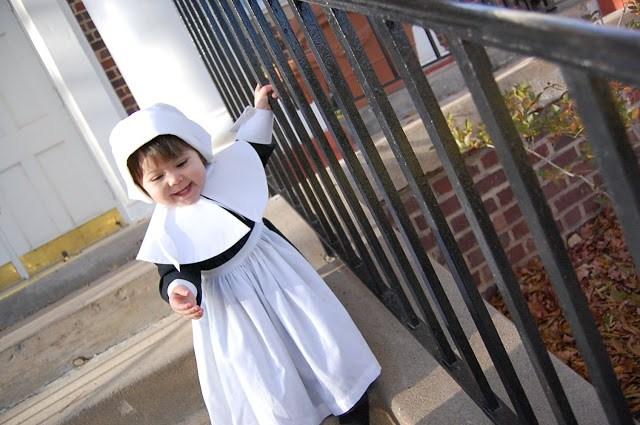 Child's Pilgrim Costume