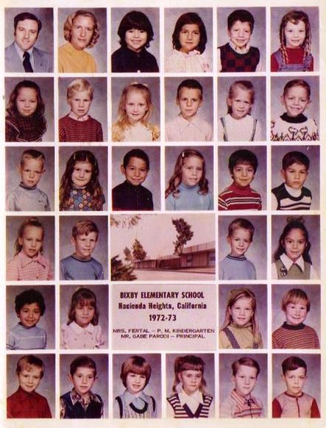 Latchkey Generation | Generation X Kindergarten Class 1972-1973
