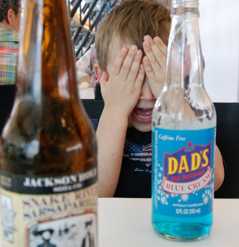 Dads Cream Soda at Pops on Route 66