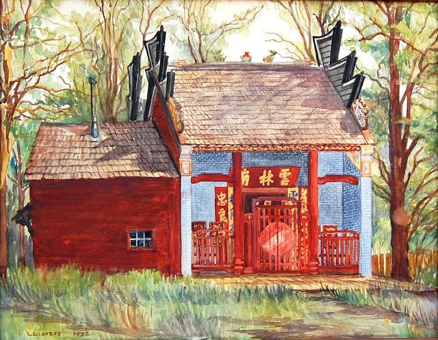 Joss House Weaverville Lovett