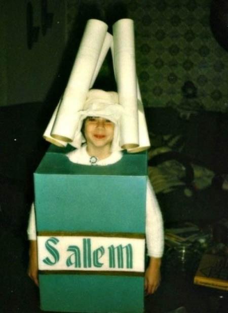 Salem Cigarette Halloween Costume