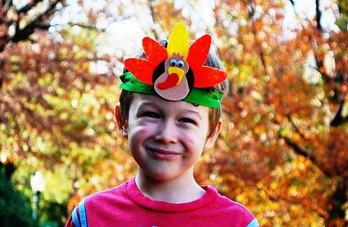 Turkey Headband for Thanksgiving Craft