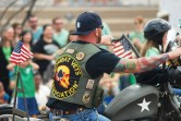 Combat Vets in a parade