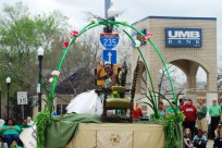 St. Patrick's Day Princess Green
