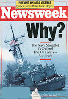 Newsweek Cover of the USS Stark Attack
