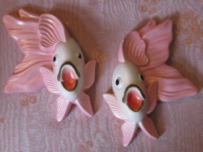 Chalkware Bathroom Fish