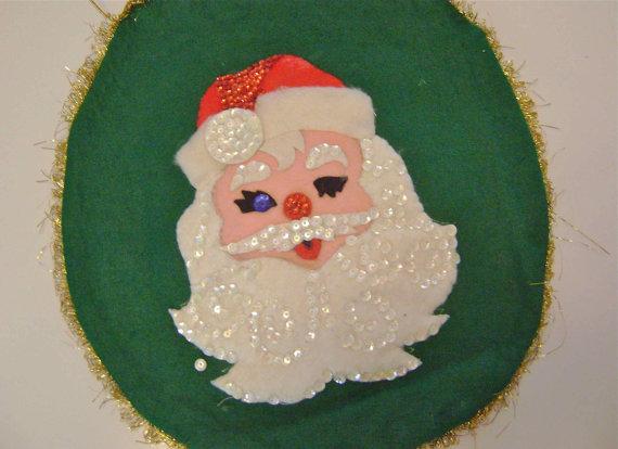 Santa Claus toilet seat cover