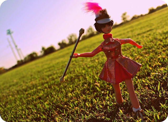 Kip, the Topper Dawn Doll Majorette.