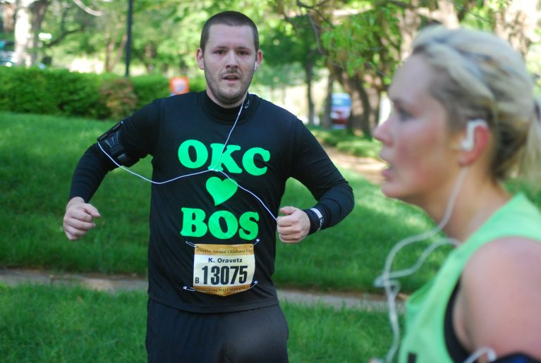 Oklahoma City Memorial Marathon OKC loves Boston