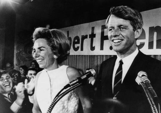 Ethel and Robert Kennedy