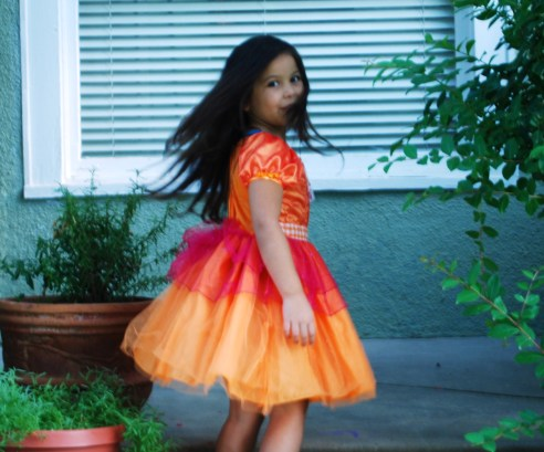 Orange Lalaloopsy Dress