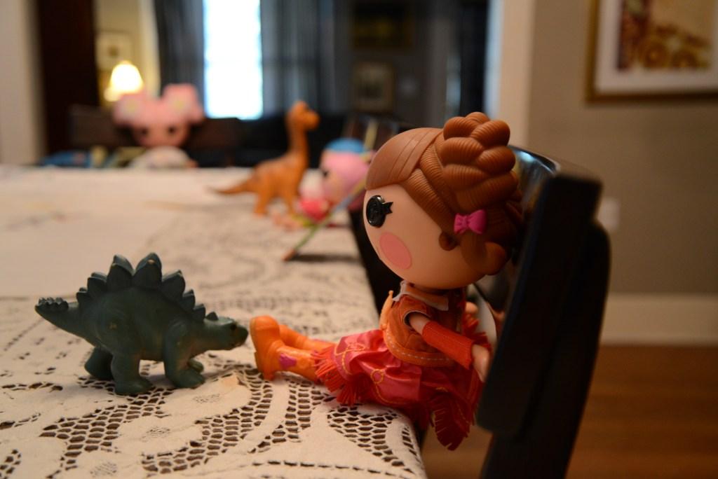 Lalaloopsy Dinosaur Tea Party